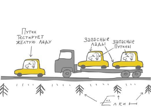 Путин тестирует ладу