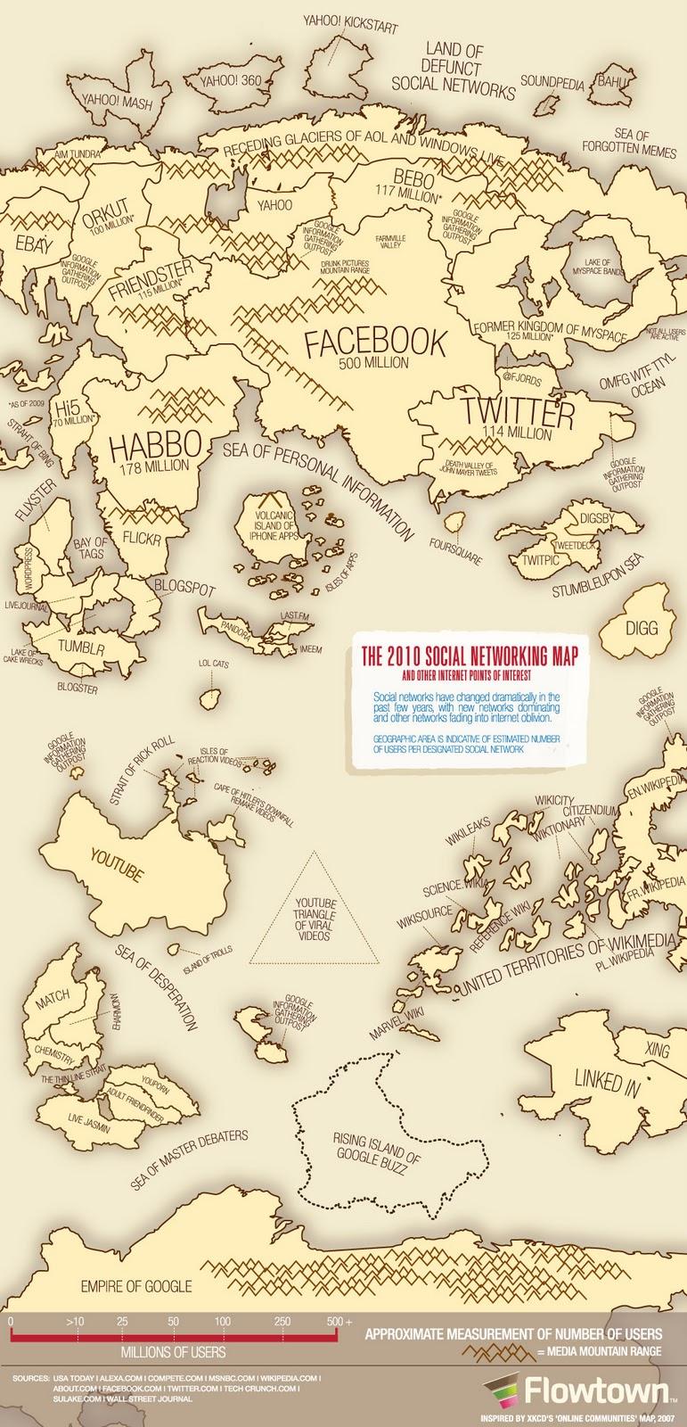 Social Network Map CS3
