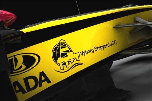 Выборгский судостроительный завод – спонсор Renault F1