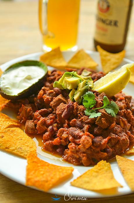 Чили кон карне пошаговый рецепт