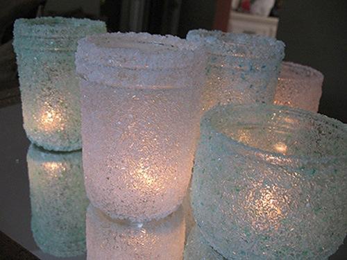 Новогодние поделки  из соли