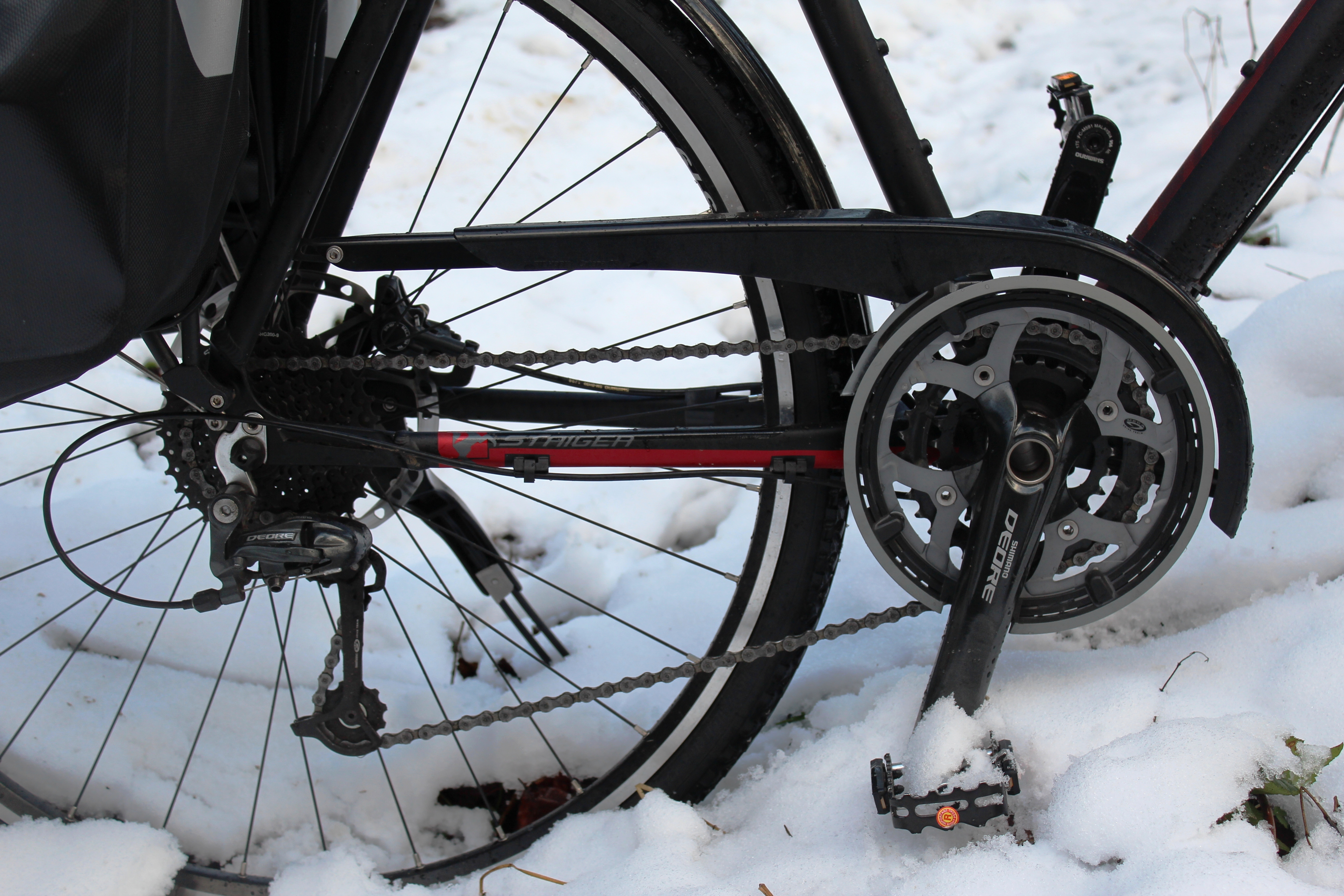 Staiger Fahrrad Winter