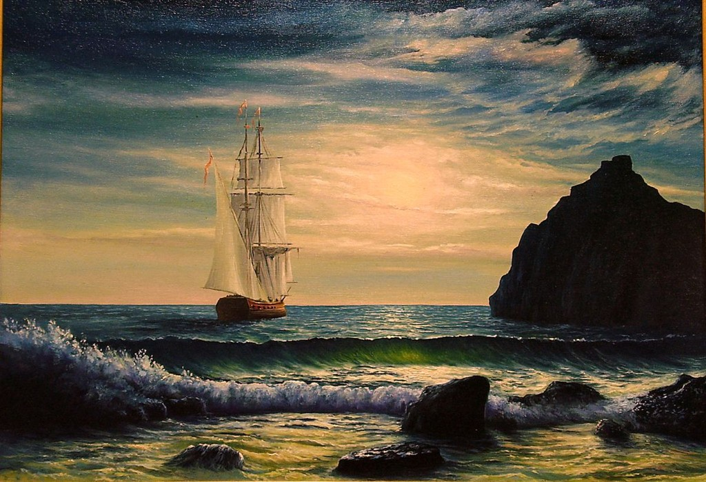 002-море-мои картины