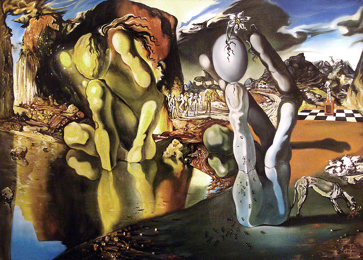 salvador dali the face of war essay The face of war (the visage of war in spanish la cara de la guerra) (1940) is a painting by the spanish surrealist salvador dalíit was painted during a brief period when the artist lived in california.