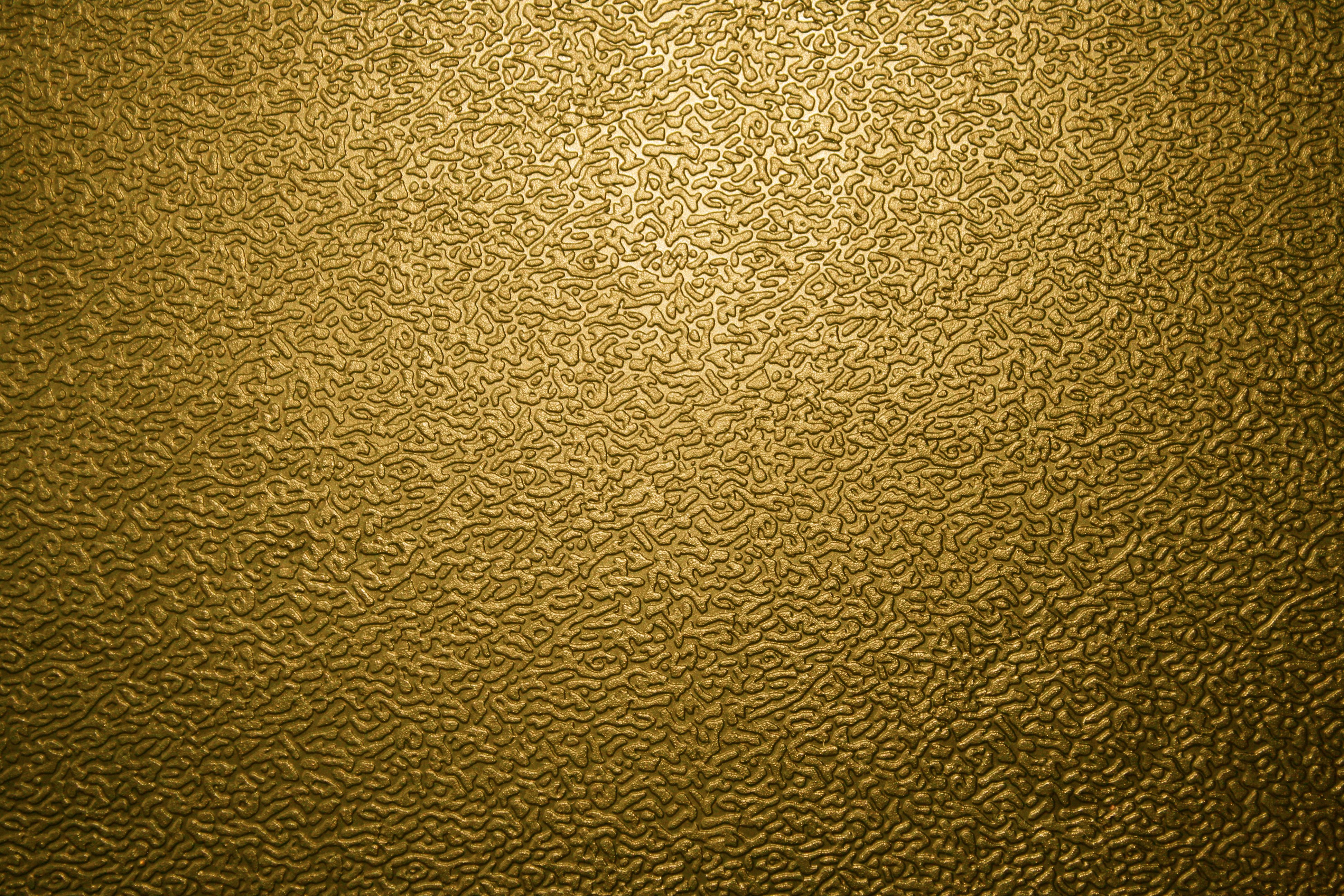 Gold metal bubble set vintage