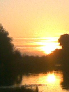 Закат над Конкой