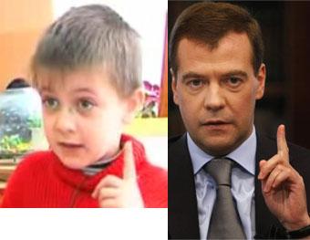 Умный малыш и Медведев