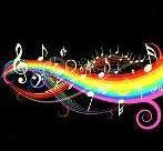 аватарка ноты радуга4