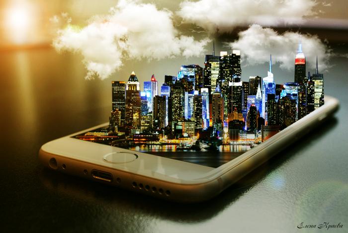 Город 3Д