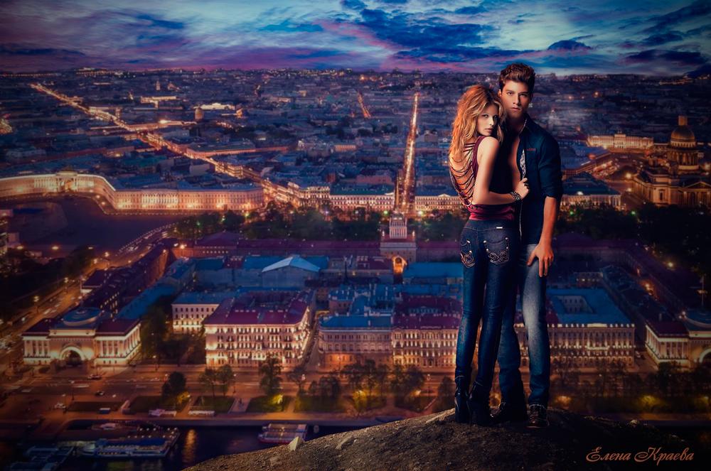 Любовь-в-ночном-городеПитер-2