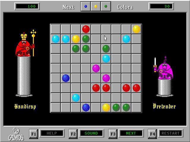 Линии  Шарики  Бесплатные игры онлайн