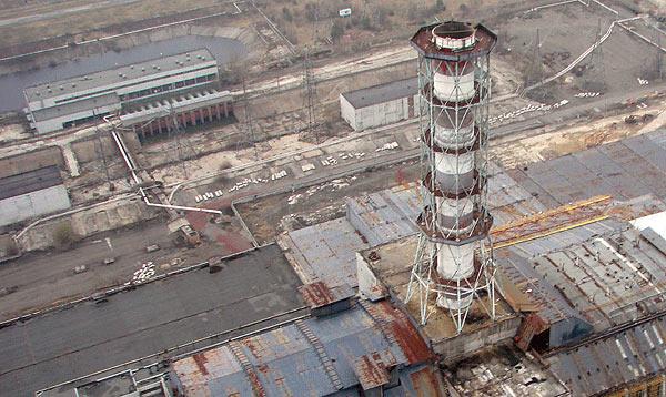 1. Вентиляционная труба второй очереди ЧАЭС (до постройки новой ВТ-2)