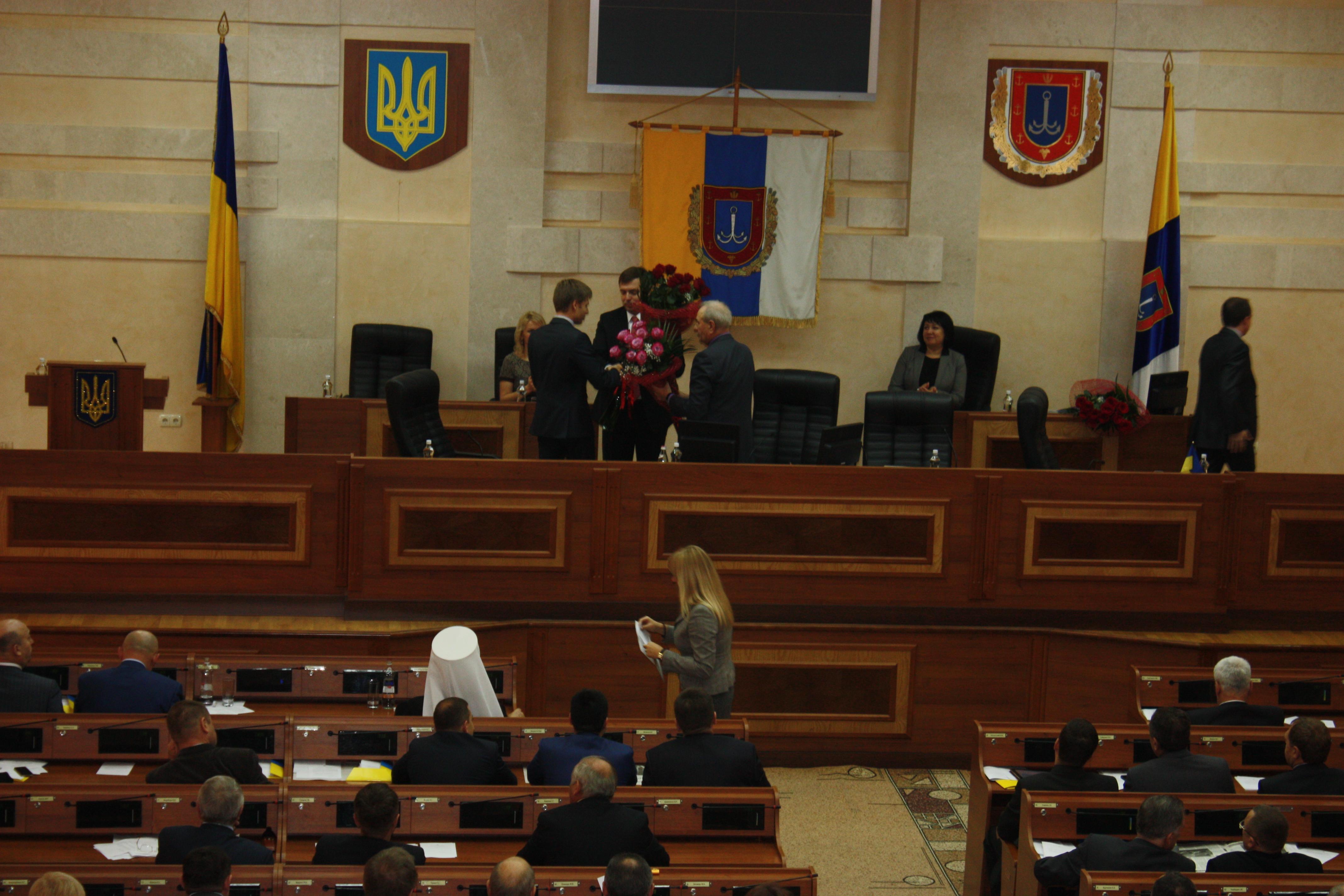Поздравление Алексея Гончаренко
