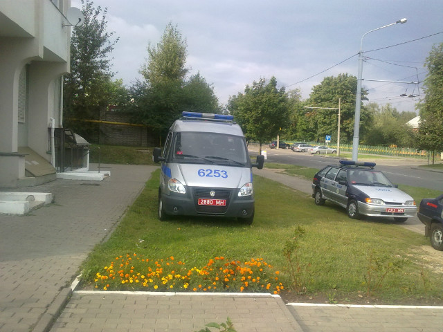 Охрана МВД РБ г.Минск