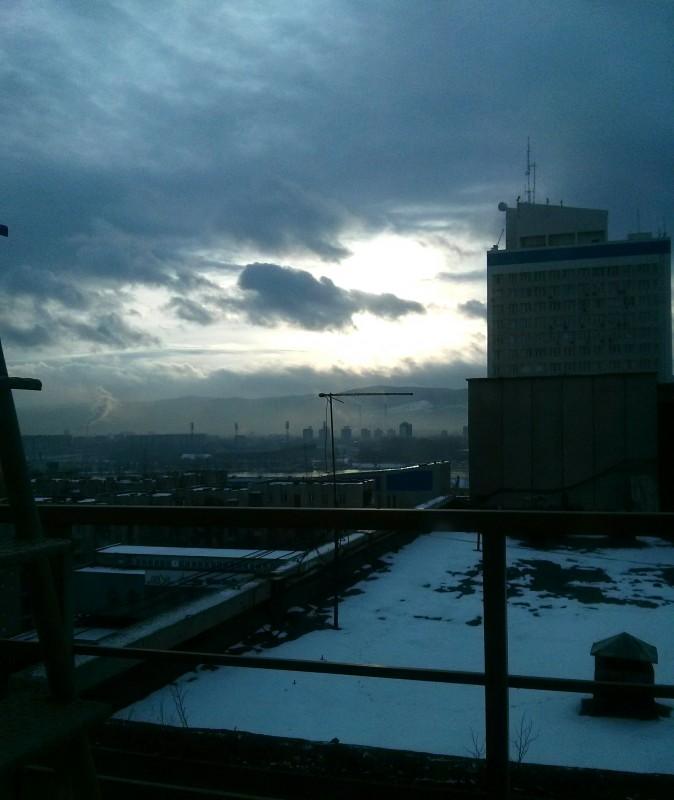 Красноярск индустриальный