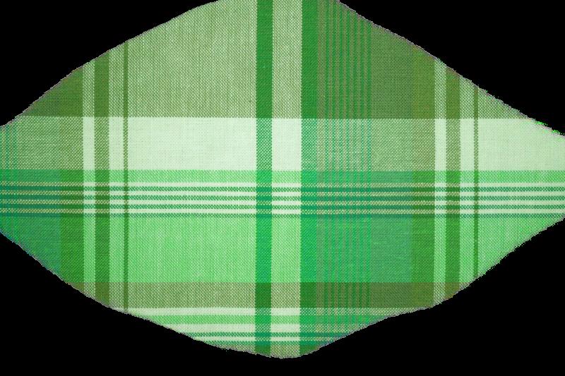 plaidfabrictexturegreen