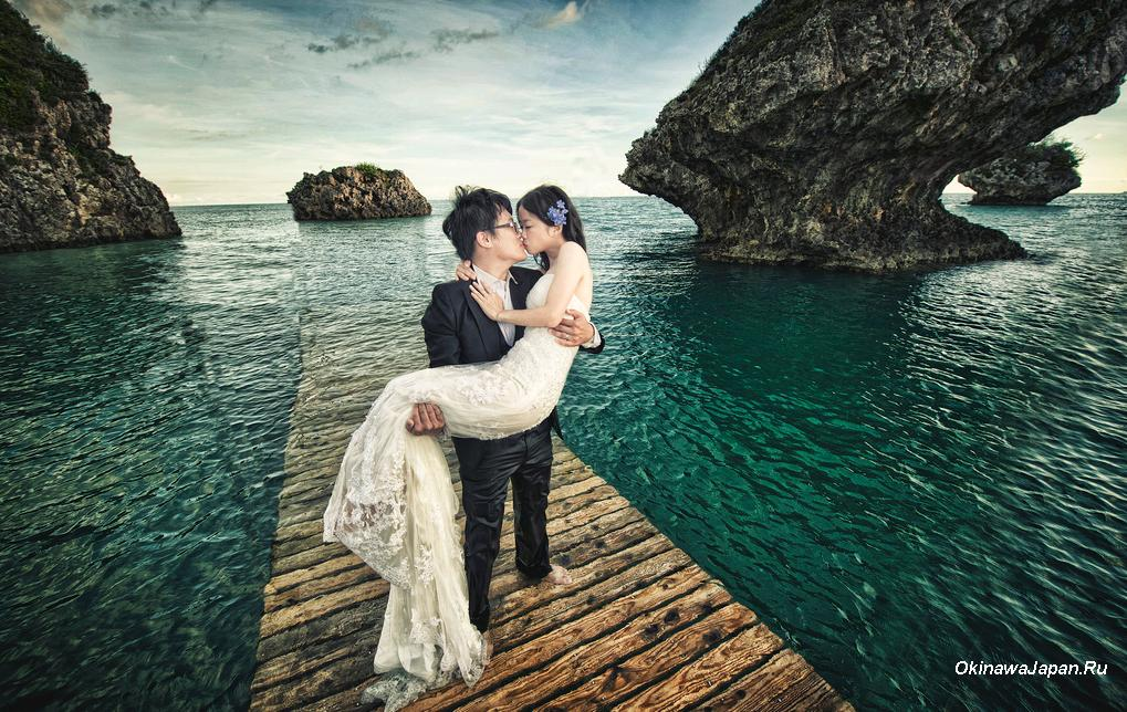 Okinawa. Свадьба