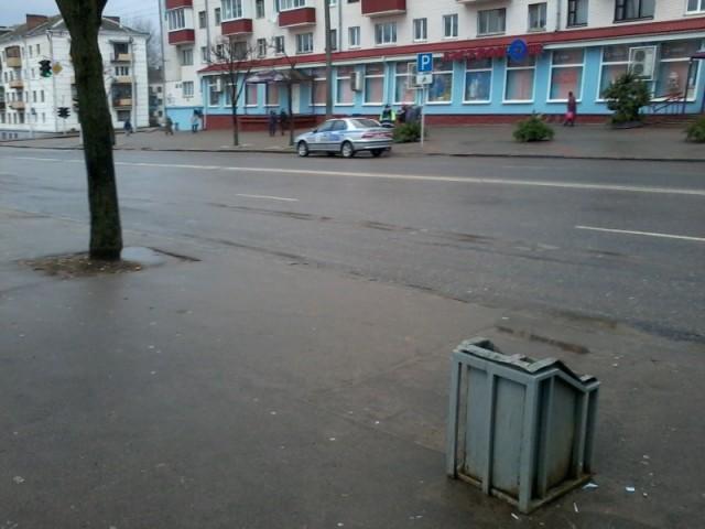 ГАИ г.Минск напротив 4-й Горбольницы. 09.01.2014г.