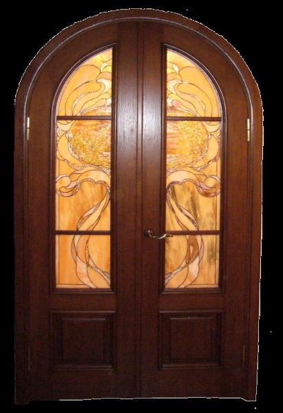 Как сделать аркой двери