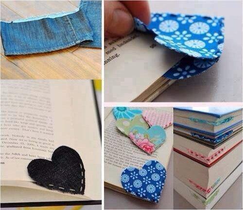 Закладки для книг своими руками уголки