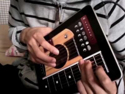 GuitarPad гитара приложение на Ipad