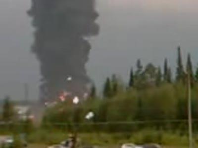 Взрыв на Пинскдреве