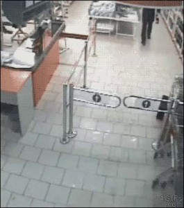 Почти украл шампусика