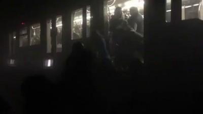 Эвакуация в бельгийском метро