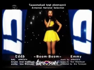 Eurovision 2011 Armenia _ Emmy - Boom boom