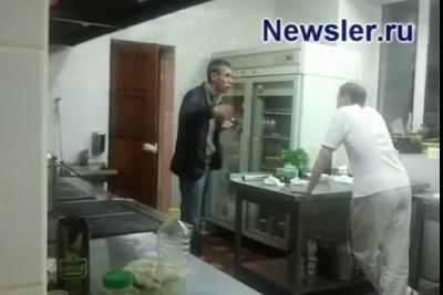Алексей Панин устроил скандал в ресторане