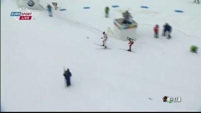 BIATHLON Spectacular Finish! SVENDSEN vs FOURCADE (WC 2013 Nove Mesto) HD