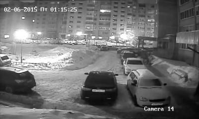 Поджог BMW