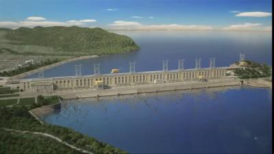 Жигулёвская  ГЭС.