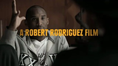 "Kobe Bryant is, ""The Black Mamba"". Directed by Robert Rodriguez."