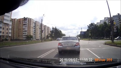 Пьянь за рулем