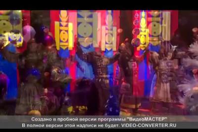 Песня Чингиз Хан на монгольском языке