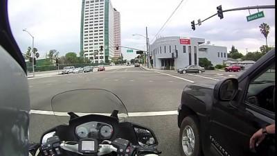 Встреча на светофоре
