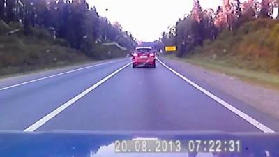 Авария на трассе М-8 113 км перед Переславлем