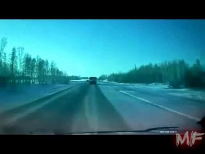 ДТП на прямой дороге