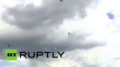 Russia: Famous stunt pilot killed during aerobatic exercise