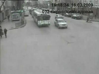 ДТП в Ростове: ВАЗ 2109 сбивает четырех пешеходов