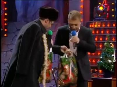 Шапка и янукович