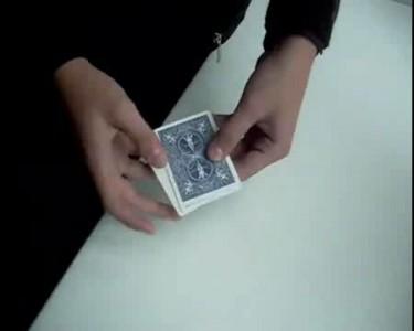 карточный фокус - 3 карты монте