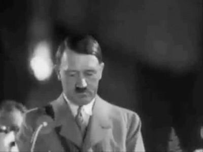 Неизвестная речь Гитлера