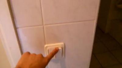 LG лампочка со звуком в туалете