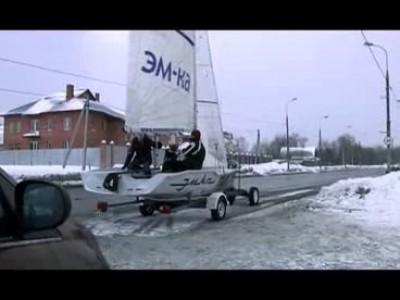 Русские яхтсмены настолько суровы…