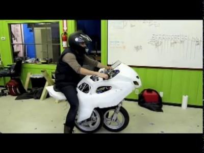 Мотоцикл недалекого будущего