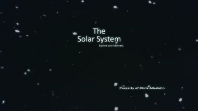 The Solar System - Explore your backyard
