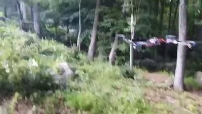 Стреляющий беспилотник с пистолетом