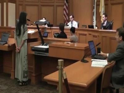 Случай в суде